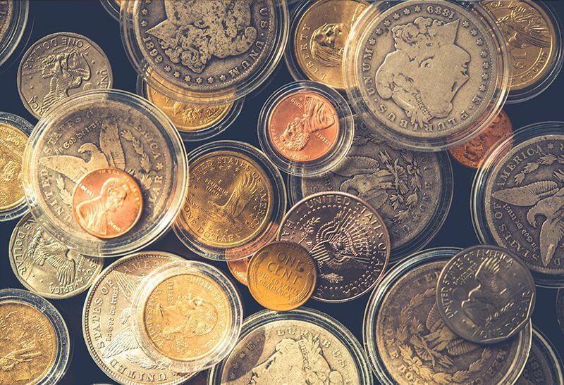 Cuenta de comerciante de monedas y objetos coleccionables