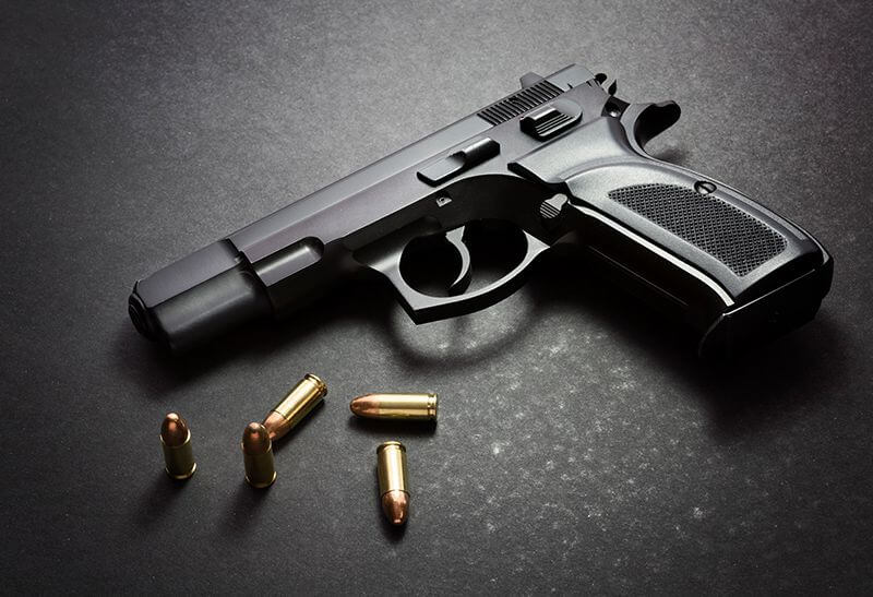 Procesamiento de tarjetas de crédito de armas de fuego