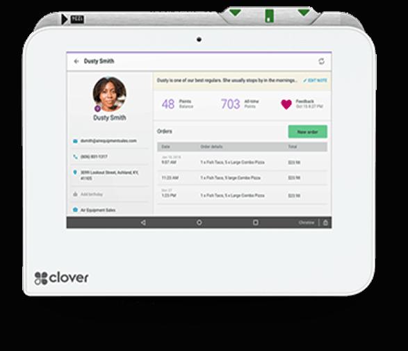 Clover POS Customer Base CRM