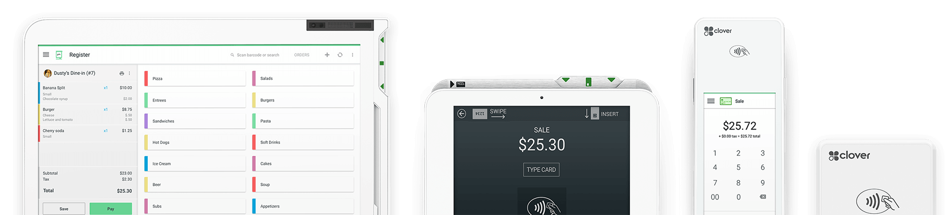Clover POS System Devices