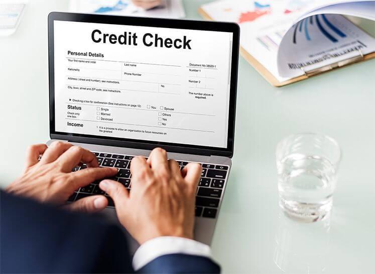 Merchant Account Credit Check